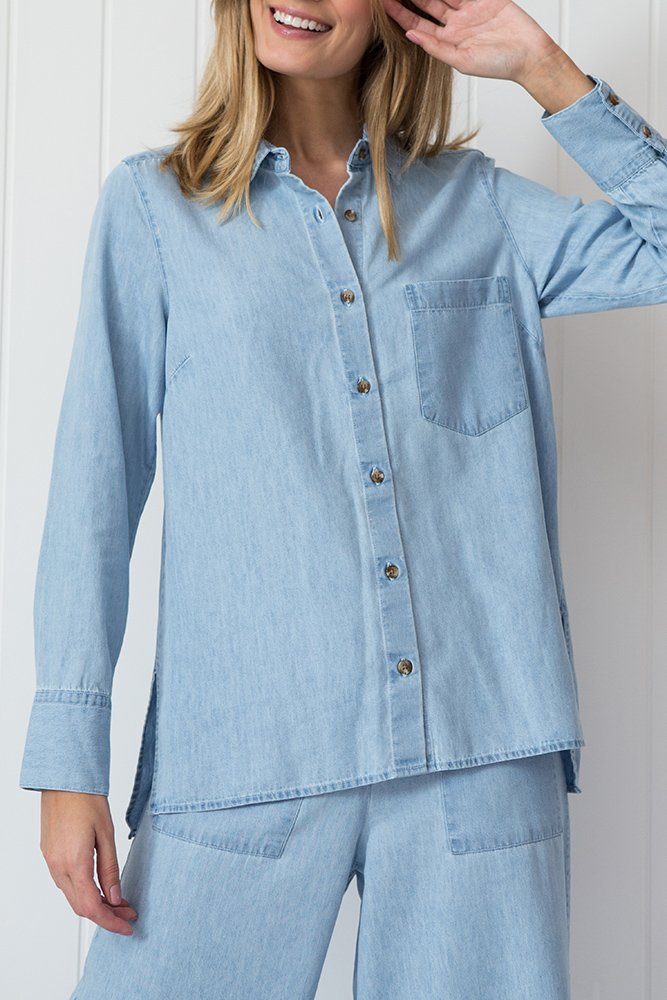 CAMISA CHAMBRAY JEANS