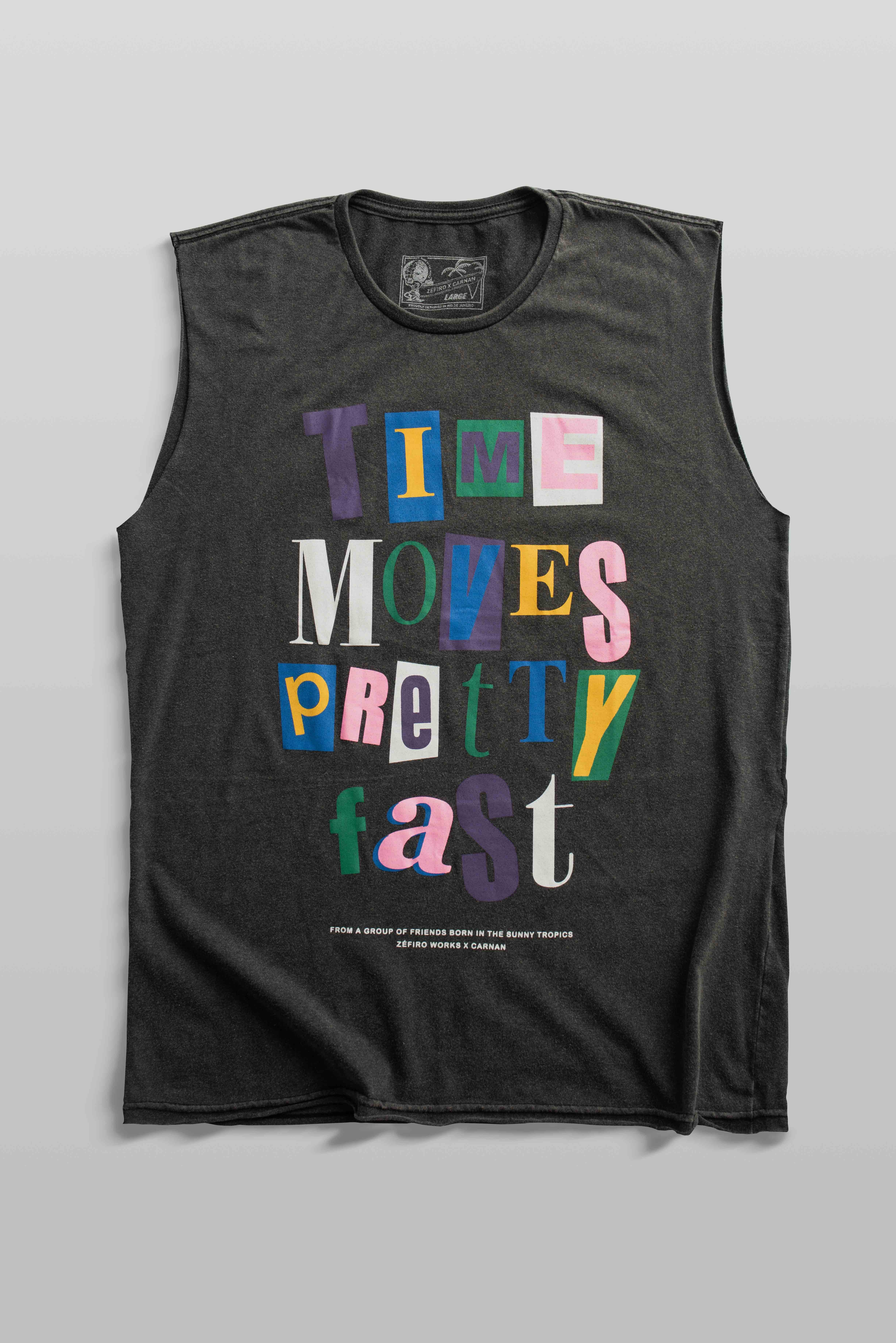 Imagem do produto MUSCLE TEE TIME MOVES PRETTY FAST