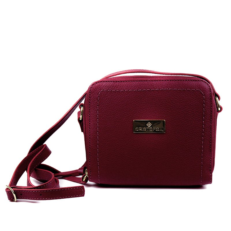 BOLSA CRISTOFOLI CROSS BODY MERLOT