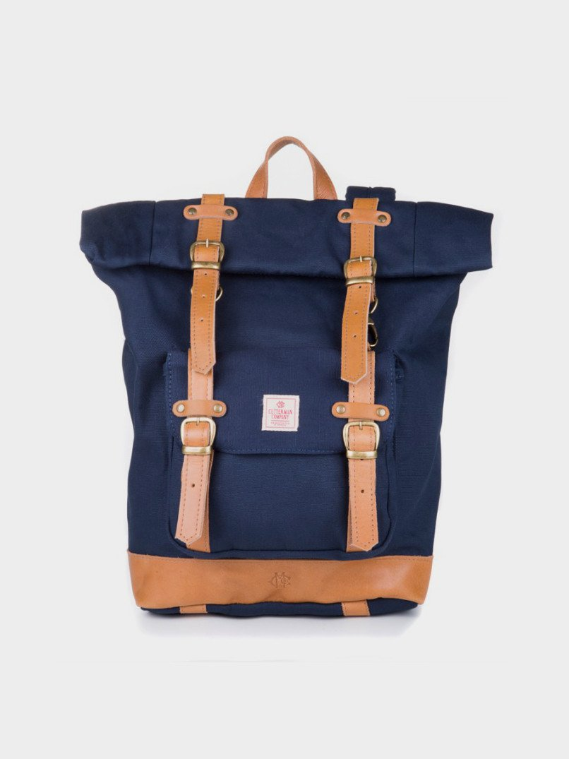 Foto do Mochila Cutterman Co The Explorer Backpack Navy