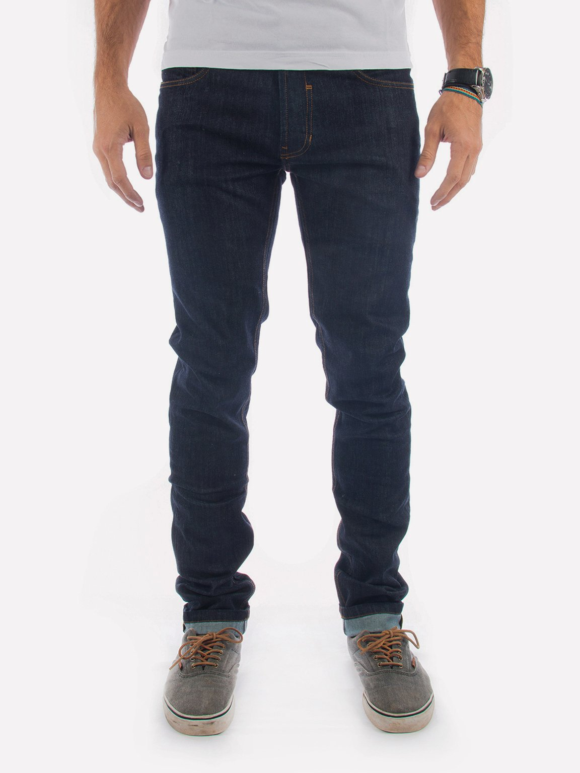 Foto do CALÇA JEANS IVEN SLIM DEEP BLUE