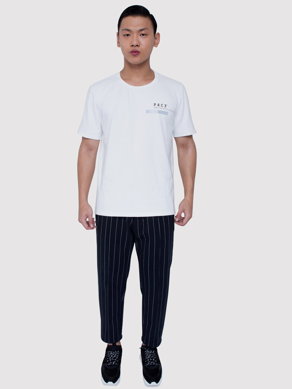 Foto do T- Shirt PACE A to Z Reflexivo Off -White