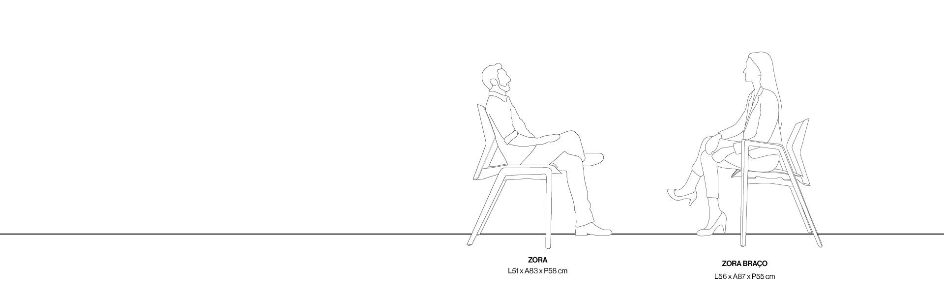 [Cadeira Zora] Gif Seção Modulos