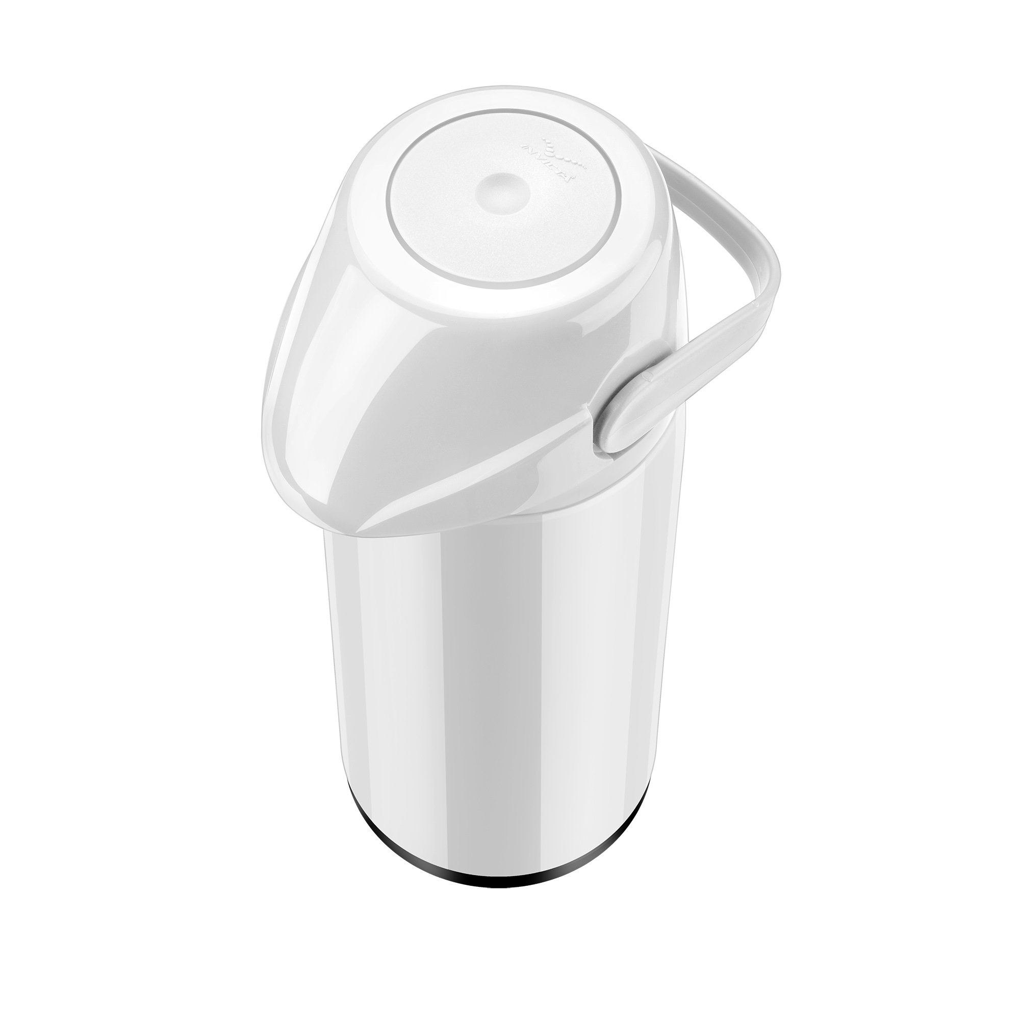 Air Pot PP 1.8L Slim Branco Invicta