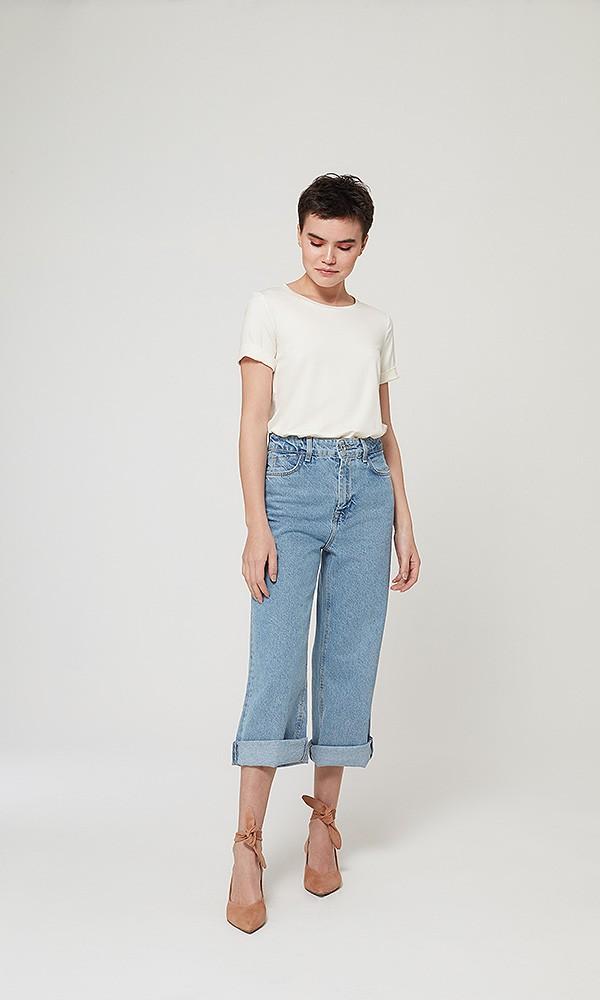 T-Shirt Gola Careca Modal - Off White