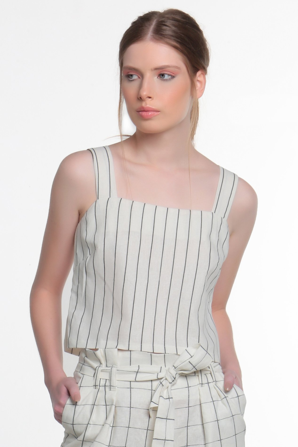 Crop Top Martina Graphic Stripes
