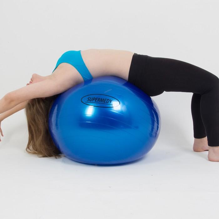 Bola Suíça 75cm para Ginástica Pilates e Fisioterapia Supermedy ... 799e03a77f40e