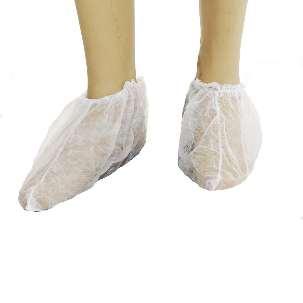 79e8189f37 Propé Descartável para Proteção de Calçados Soft Branco - 100 unidades