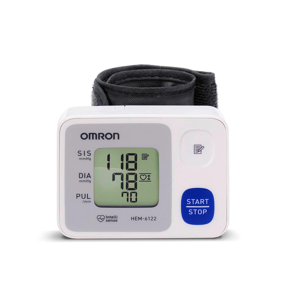 c20dc4b63 Aparelho Medidor de Pressão Digital Automático de Pulso HEM-6122 Omron