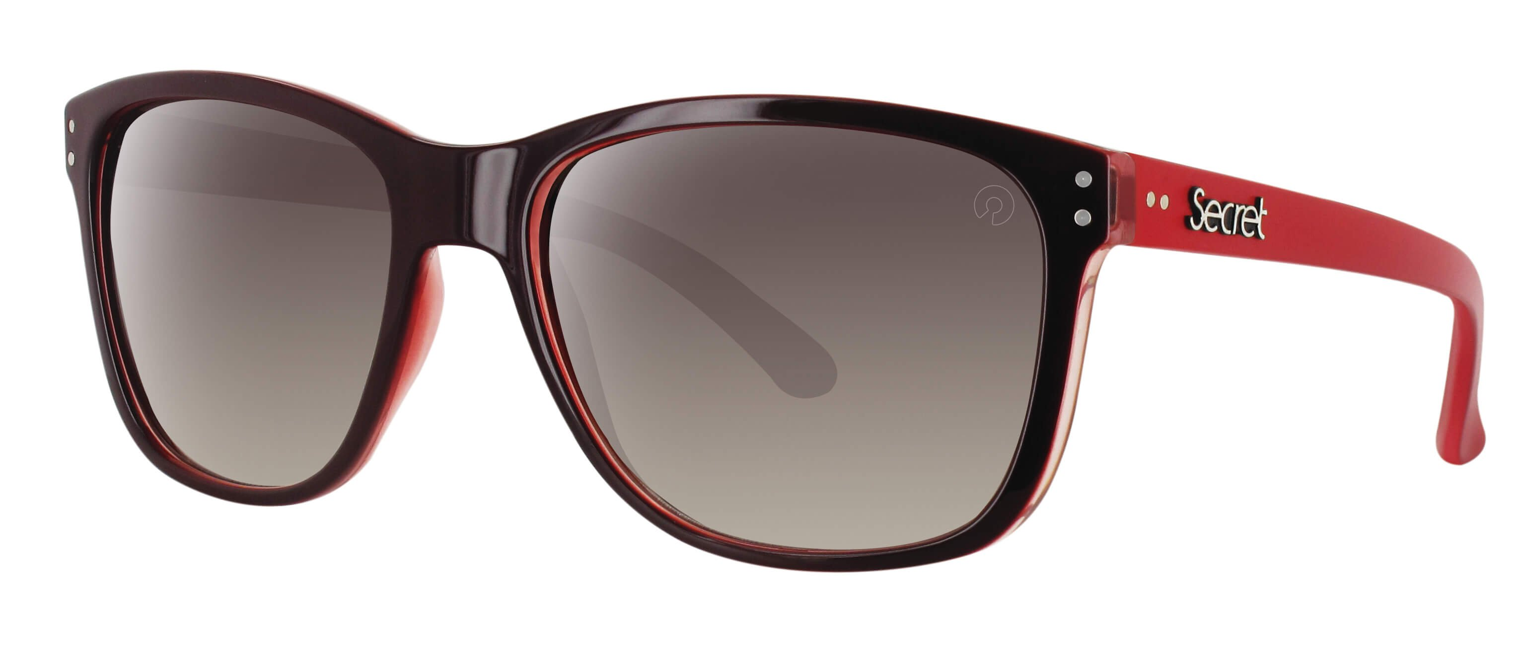 ÓC SECRET ZOE RED/MATTE LIGHT RED / POLARIZED GRADIENT BROWN