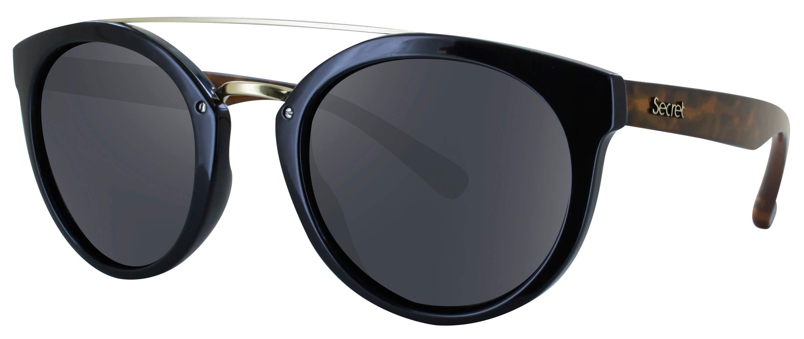 ÓC SECRET QUEENS G.BLACK/HAVANA TURTLE / POLARIZED GRAY