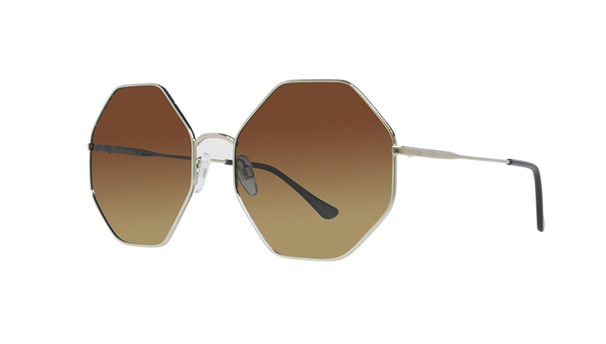 MARIA GOLD / GRADIENT BROWN LENS