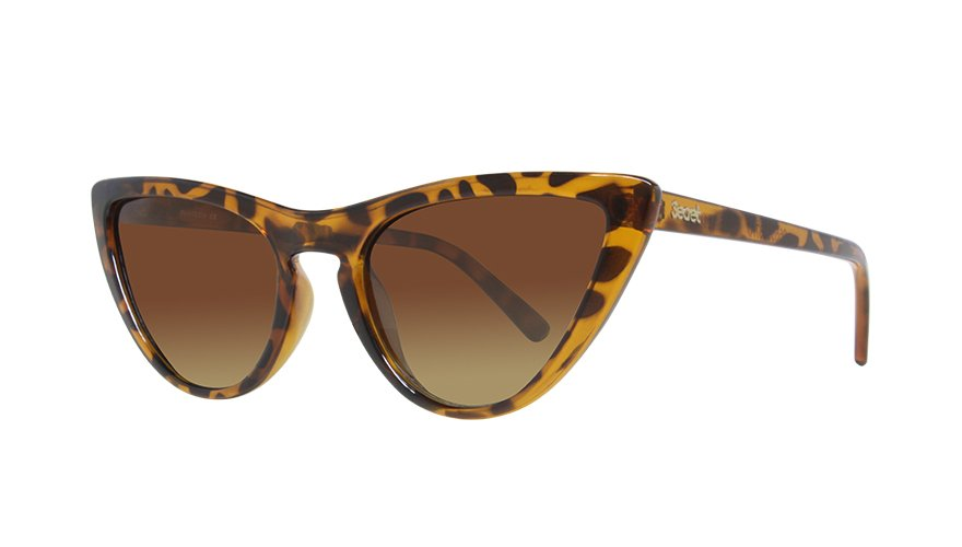 BEATRIZ HAVANA TURTLE SHINY / GRADIENT BROWN LENS