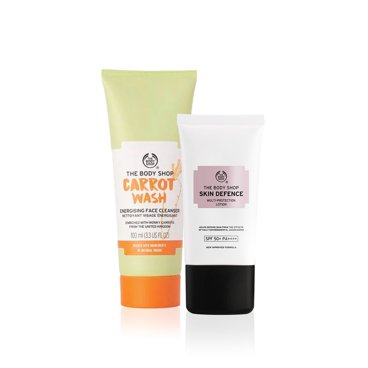 Kit Skin Defense - Face Wash Carrot