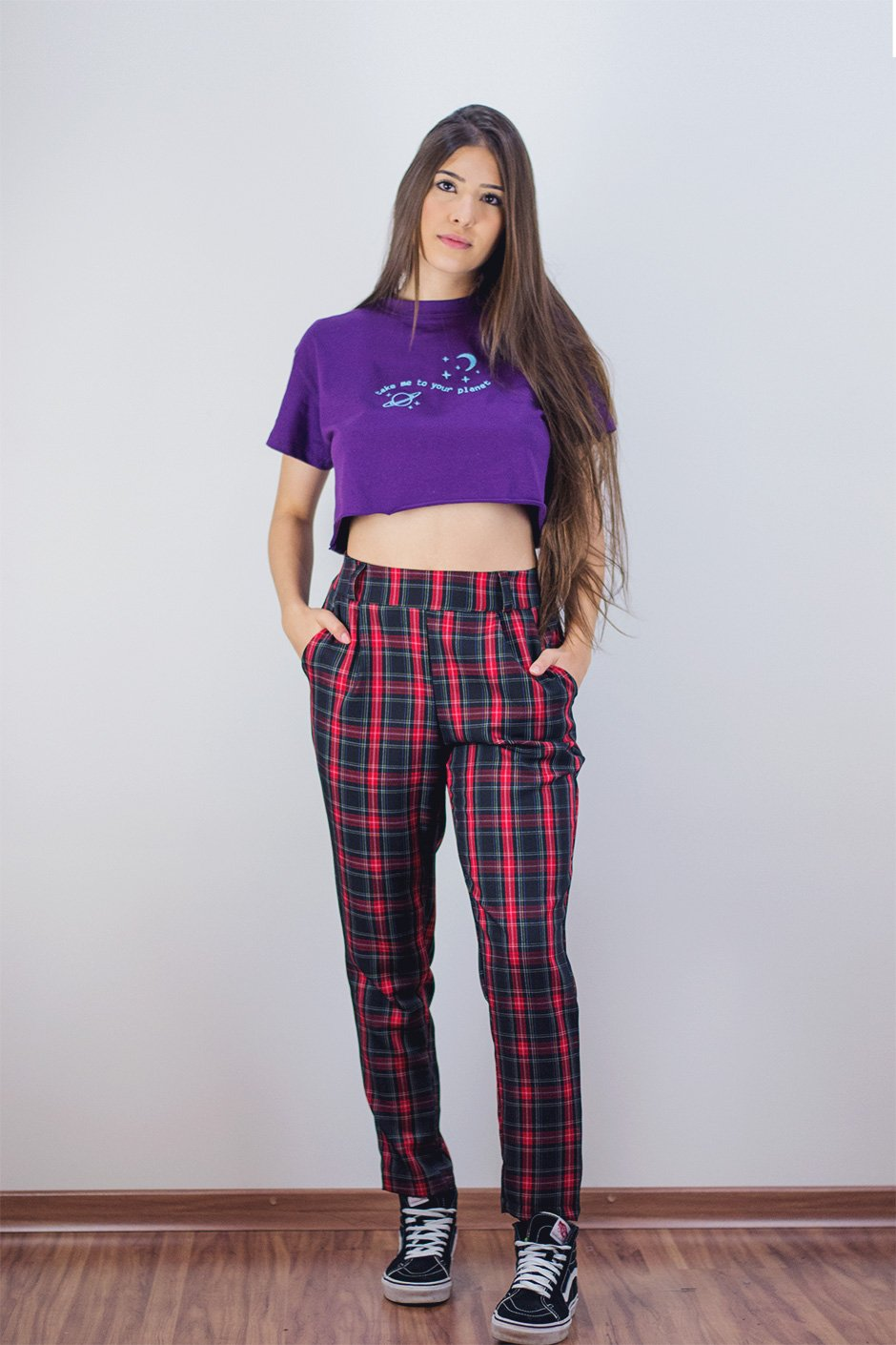 CROPPED 90'S PLANET ROXO