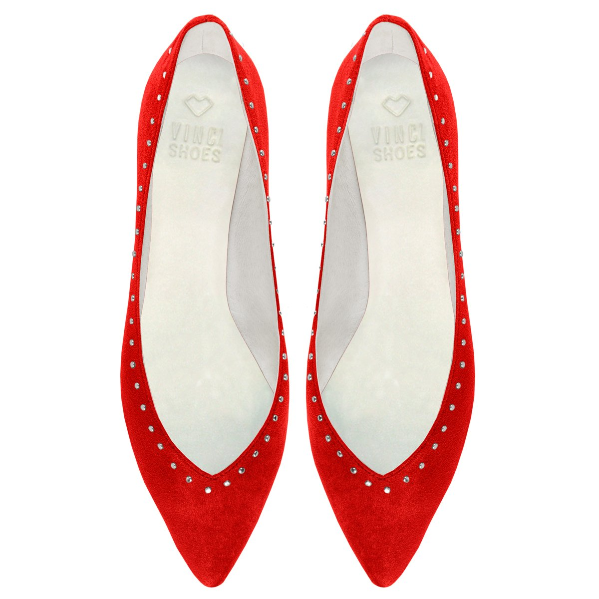 Sapatilha Candice Studded Red