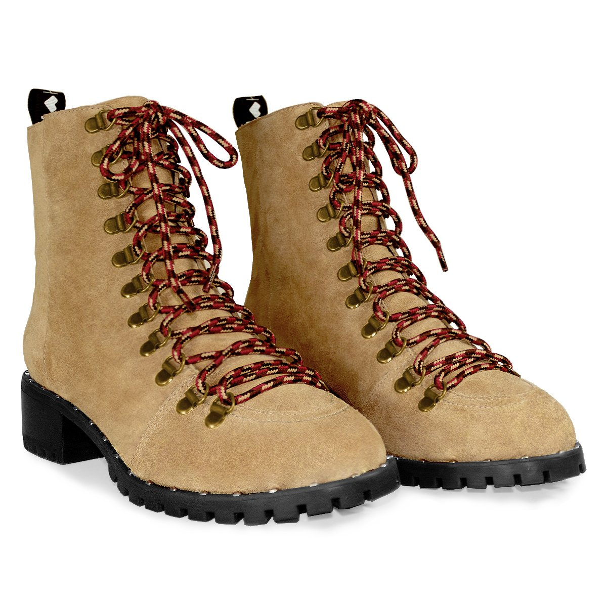 Bota Hiking Caramelo