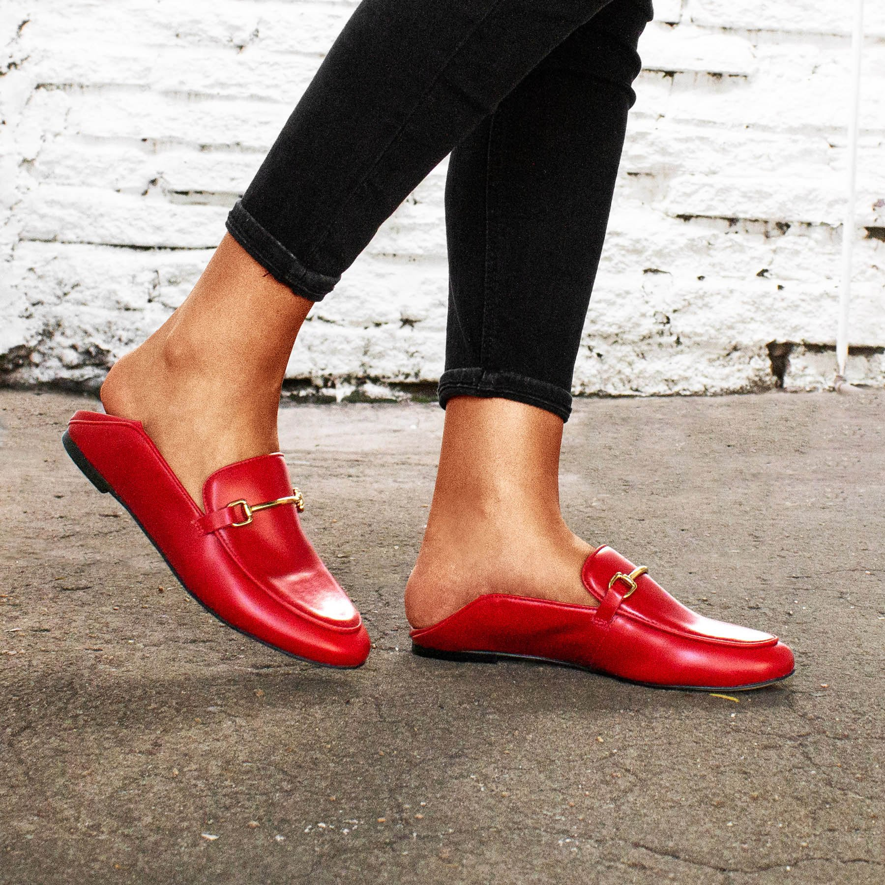 Loafer Boston Red